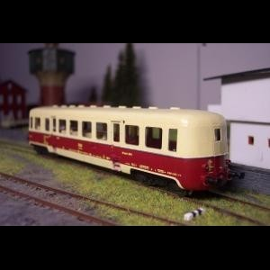 TT BFalm/BixPost/020 - kit of passenger cab with mail section
