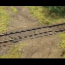 TT - Railroad crossing (2pcs)