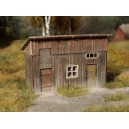 N - Wooden shed (unassembled kit)