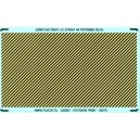 N - Yellow - black stripes (area for cutting)