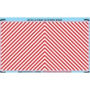 H0 - Red & white stripes decal (area for cutting)