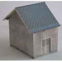 H0 - Small storage building ZvKČ - extension, unassembled kit