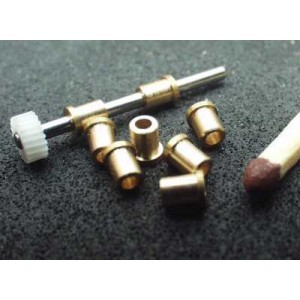 Bushing d1.5/2.5 x 3.5/3.0 with flange 3.0 mm (long)