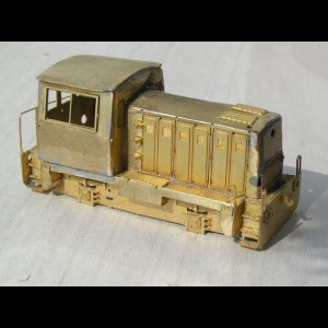 TT T211 - photo-etched kit of the CKD diesel loco