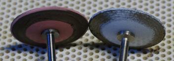 Silikonové leštící koutoučky